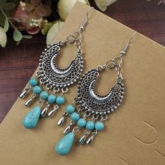 Tibetan Silver Earrings(NWT)price firm Brand new in package Boutique Jewelry Earrings