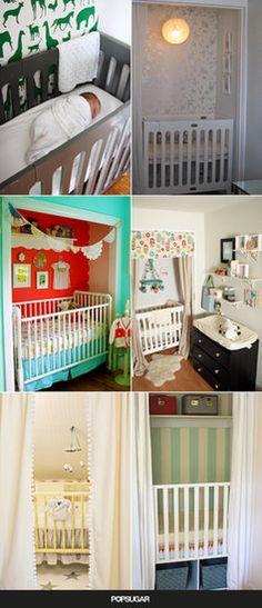 A Crib in a Closet: 9 Ways to Make It Work