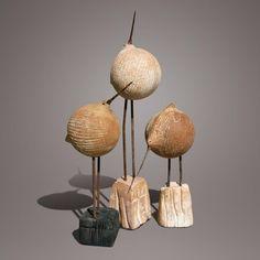 Christian Pradier Sculpteur-céramiste -né en 1949 France- (21 photos) pour voir l'album complet cliquer sur le nom de l'artiste à gauche en bas de la photo.