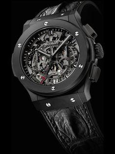 The Hublot Classic Fusion Aero Las Vegas Limited Edition Amazing Watches, Beautiful Watches, Cool Watches, G Shock, Rolex, Hublot Classic Fusion, Der Gentleman, Hublot Watches, Latest Watches