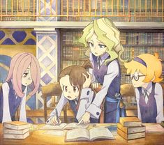 599 Best Little Witch Academia images in 2019 | Little witch
