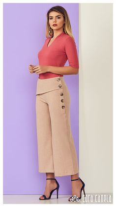 LOOKBOOK 5 – Cora Canela Chic Outfits, Fashion Outfits, Womens Fashion, Square Pants, Dress Indian Style, Short Tops, Urban Fashion, Latest Fashion Trends, Casual Chic