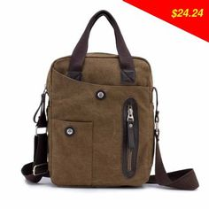 Check this product! Only on our shops New Men's Travel Bag Canvas Men Messenger Bags Vintage Style Briefcase Casual Multifunction Outdoor Shoulder Bags Free Shipping - US $24.24 http://cheapsellingitems1.com/products/new-mens-travel-bag-canvas-men-messenger-bags-vintage-style-briefcase-casual-multifunction-outdoor-shoulder-bags-free-shipping/