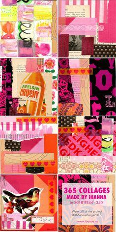iHanna's 365 Collages 2018 - Week 50 #365somethings2018 #orange #pink #art #sweden #collage Collage Making, Collage Art, Collages, Art Journal Pages, Art Journaling, Gcse Art, Pink Art, Art Sketchbook, Orange Pink