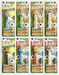 PEZ - Looney Tunes, Soccer team 2 - EU collection