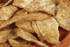 Whole-Grain Cinnamon Pita Chips- delicious! #healthysnacks