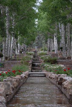 Glorieta, New Mexico - Prayer Garden