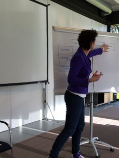 In actie tijdens een introductieworkshop marketing op Landgoed de Horst