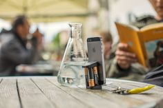 Meet Oivo, iPhone charger on the go. No cables, no AC power, just add AA batteries. Back us on Kickstarter!