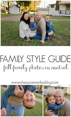 Family Style Guide - Fall Photos//Always A New Day Blog
