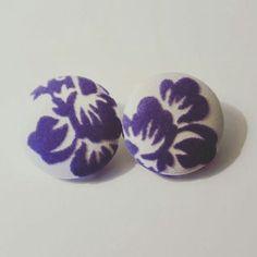 Women's Purple Velvet Stud Earrings  | Jewelry & Watches, Fashion Jewelry, Earrings | eBay!