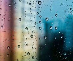 Krople deszcz