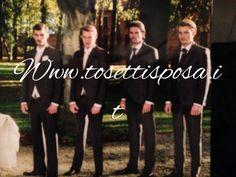 E gli uomini??....sempre sulla copertina di SPOSABELLA ......tutti  vestiti Carlo Pignatelli......Line asciutte e giovani per un look impeccabile e grintoso allo stesso momento... Www.tosettisposa.it