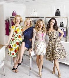 Miranda Hobbes , Samantha Jones , Carrie Bradshaw and Charlotte York