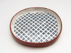 Small Ceramic Bowl / Trinket Dish / Vintage Look by susansimonini, $32.00 :: https://www.etsy.com/au/shop/susansimonini