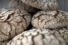 Finnish sourdough rye bread Sourdough Rye Bread, Finnish Recipes, Nordic Christmas, Food Inspiration, Goodies, Yummy Food, Chocolate, Baking, Finland
