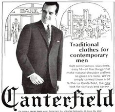 The Ivy League Look: Canterfield, 1967