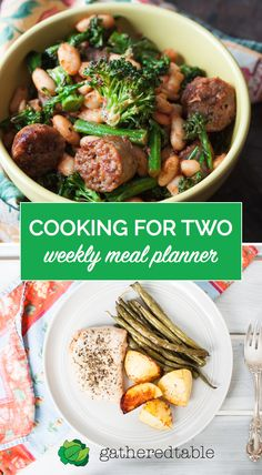 Discover healthy weekly meal plans specifically designed for small households - featuring recipes that optimize for no waste. Start your free trial today!