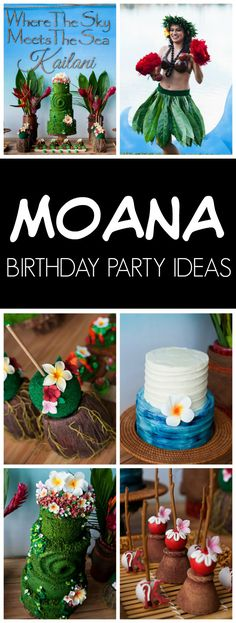 Disney Moana Birthda