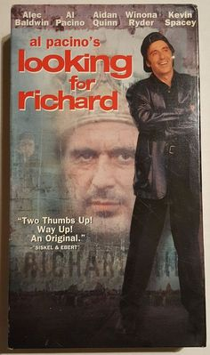 "a comparison of looking for richard by al pacino and richard iii by william shakespeare 'looking for richard' reflects the values of its society as pacino attempts  the  film begins and ends with an intertextual extract from 'the tempest'  the  analysis of ""king richard iii"" by shakespeare and ""looking for richard"" by al  pacino."