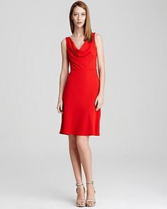 DKNY Cowlneck Dress----Need......this.....dress.