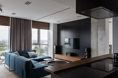 River View apartment by SVOYA studio on Behance
