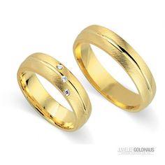 #Trauringe #Eheringe Gold Gelbgold - CERA3028