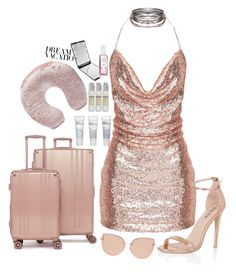"""""""#PolyPresents: Dream Vacation"""" by elsa-ebervik on Polyvore featuring Chi Chi, Topshop, CalPak, Port Products, Forever 21, Le Labo, contestentry and polyPresents"""
