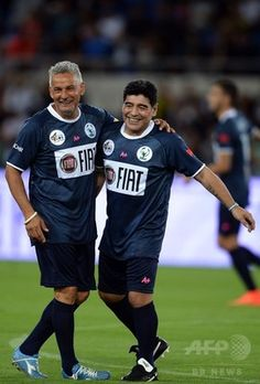 Baggio & Maradona