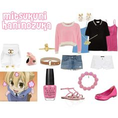"""Mitsukuni Haninozuka"" by casualanime on Polyvore"