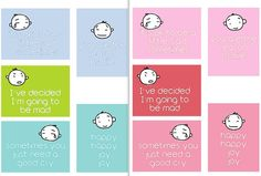 FREE Little Faces Printables for Project Life by Scrappystickyinkymess
