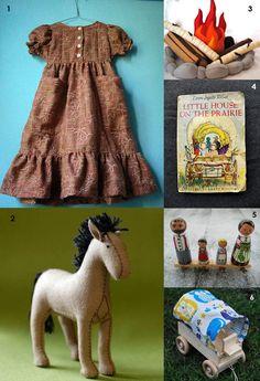 Little House on the Prairie toys