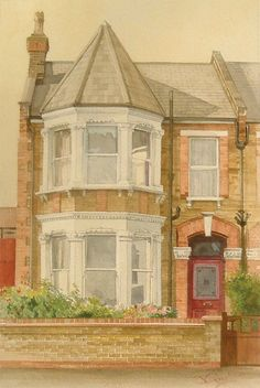 John Gustard - House and home portraits in watercolour and other media