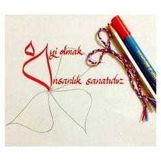 #kaligrafi #calligraphy #zig #iyi #sanat #insanlık #art #kaligrafiaşktır #ts #trabzon #forever #forevercalligraphy #hayırlıcumalar #love #parallelpen #hıtext #güzelyazı #günaydın #by