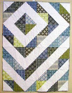 Confessions of a Serial Quilter: The Man Quilt - Finished!