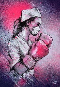 PEINTURE - GRAFFMATT Graffiti Art, Nurse Drawing, Medical Photography, Family Photography, Medical Wallpaper, Street Art, Nurse Art, Medical Art, Art Original