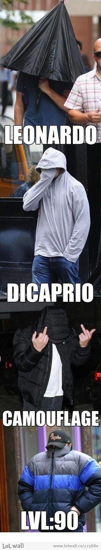 """Leonardo """"loves'' paparazzi"""