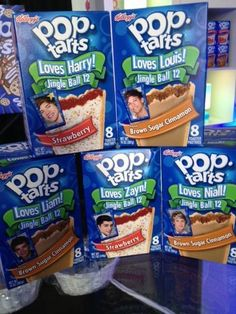 1D Poptarts???  WHERE!?!?!?!<< Prob in England where 1D World is..... and the milkshake.... and everything else then whats better in america