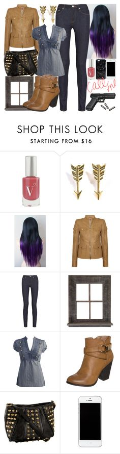 """""""Call Me Anytime"""" by dev-lynn ❤ liked on Polyvore featuring Vapour Organic Beauty, Jade Jagger, Tory Burch, Acne Studios, Wet Seal, New Look and Treesje"""
