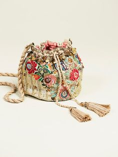 Pinki Embellished Pouch bohemian chic boho style accessories handbag @freepeople
