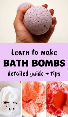 How To Make Bath Bombs: The Ultimate Guide + Professional Tips – DIY Beauty Base Detailed guide teaching how to make bath bombs like a pro. Examples of a basic bath bomb recipe and of the foaming bath bomb recipe. Homemade Bath Bombs, Homemade Soap Recipes, Recipe For Bath Bombs, Homemade Gifts, Beauty Base, Diy Beauty, The Body Shop, Best Bath Bombs, Diy Lush Bath Bombs