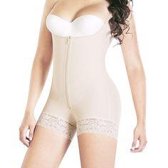 16b301de89 Full Body Shaper Tummy Control Bodysuit Waist Cincher Underbust Shapewear  Slimming Trainer Panties Gridle Corset Women Plus Size