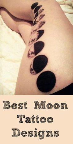 Best Moon Tattoo Designs
