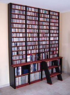 Exceptionnel Creative CD DVD Storage Ideas For Perfect Decor!