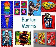 Download de pdf door op dit image te klikken Pop Art, Projects For Kids, Art Projects, Burton Morris, Keith Haring, Art Du Monde, Artist Project, Fun Arts And Crafts, Art Courses
