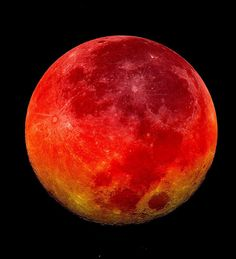 Kanlı ay tutulmasının etkileri