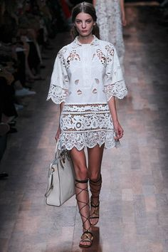 Valentino knows how we like our lace