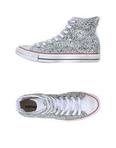 Converse High Tops for women | Converse High-tops & Trainers in Silver | Lyst