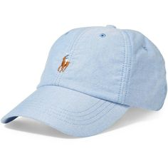 68afff0e708 Polo Ralph Lauren Men s Oxford Sports Cap (£28) ❤ liked on Polyvore  featuring