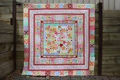 Vignette in Stitches Blog: Flimsy Finished